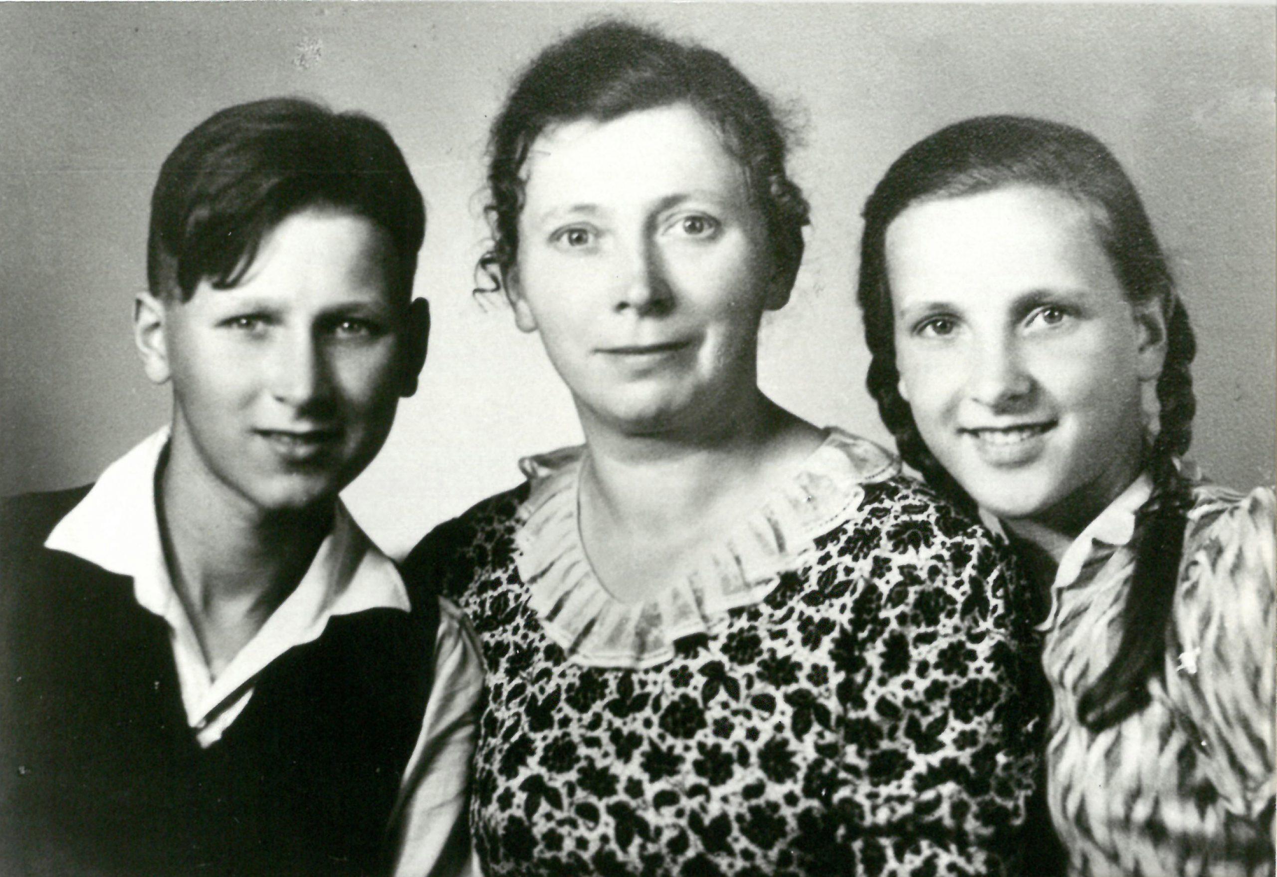 Ein Bild für den Vater - 1940