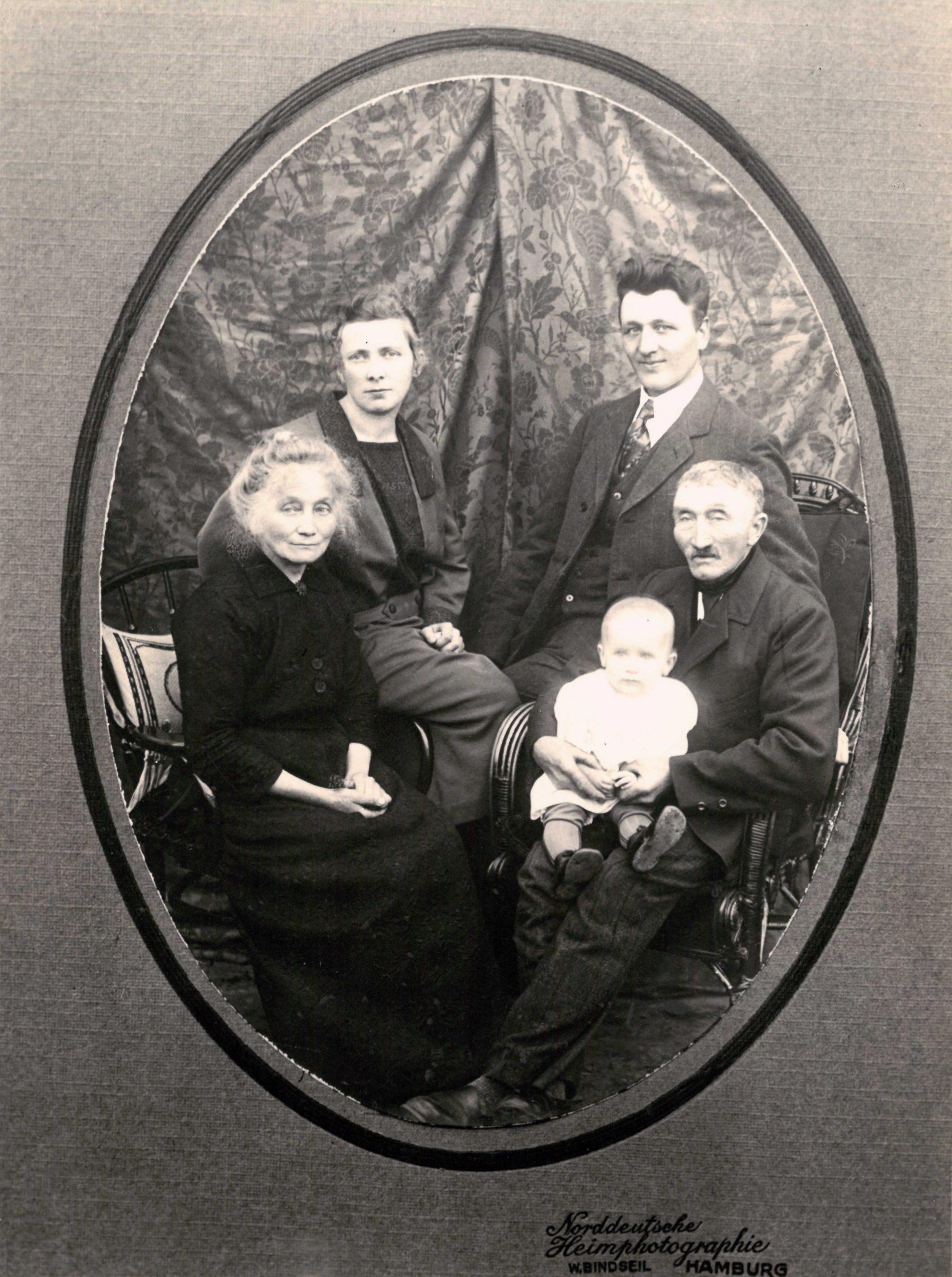 Familienbild - 1925