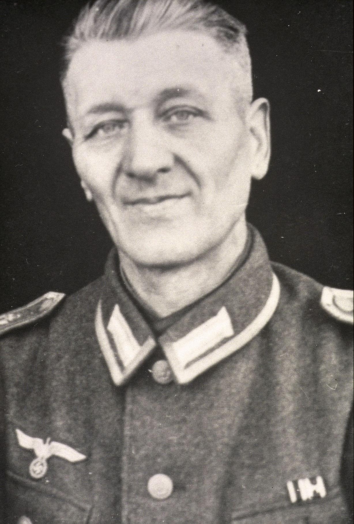 Joh. Schoon als Soldat im 2. Weltkrieg