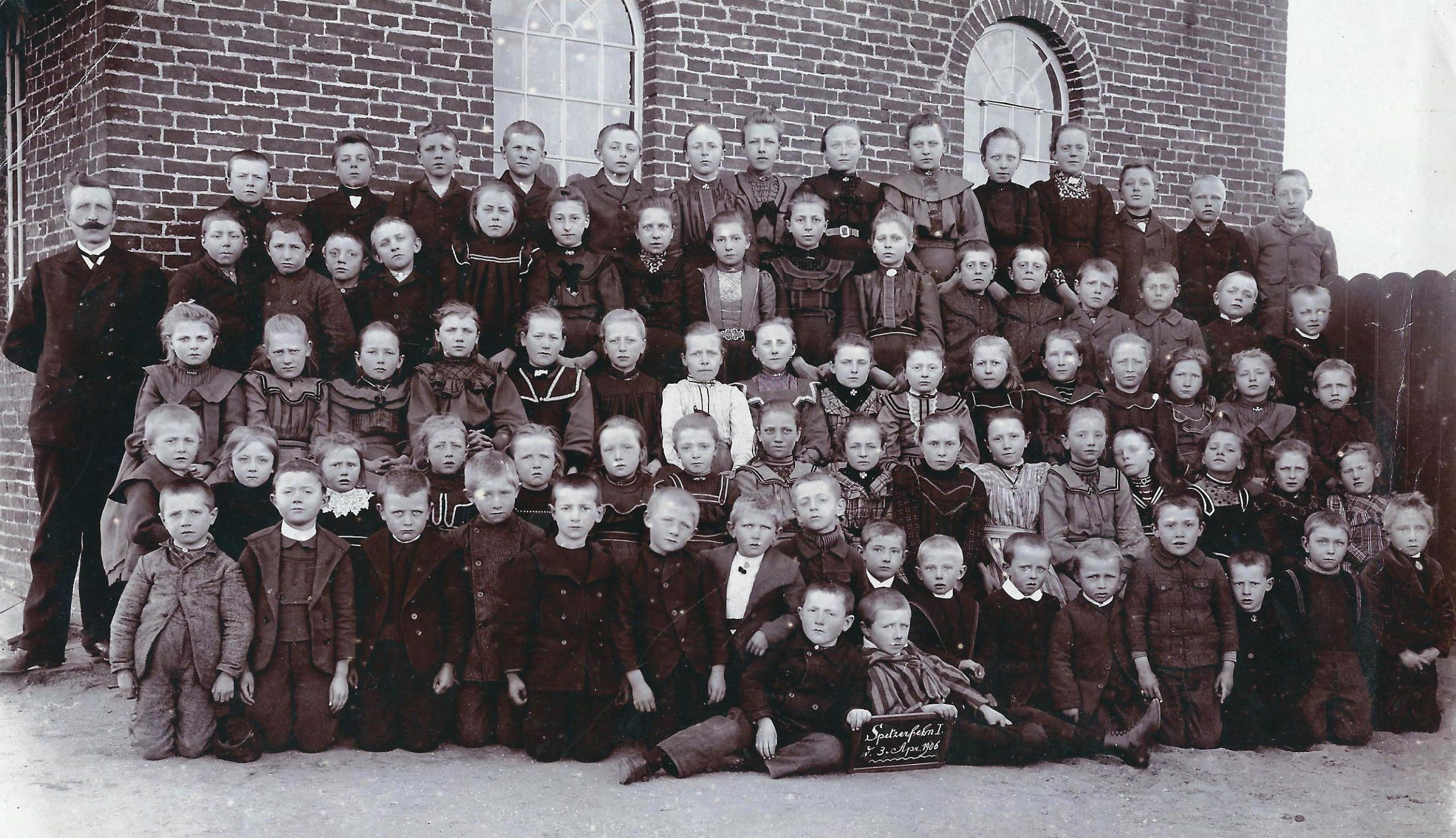 Schulfoto - 1906